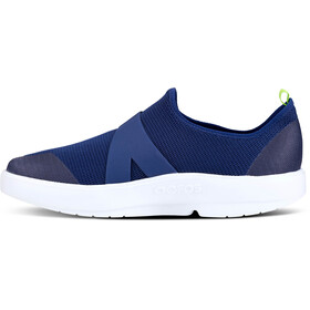 OOFOS OOmg Low Shoes Men, white/navy